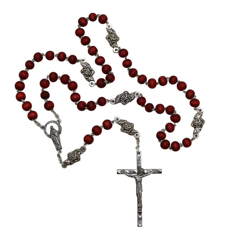 ¡Regalo de Puntos! R217_Spanish_Rose_Rosary_CUT_OUTFV